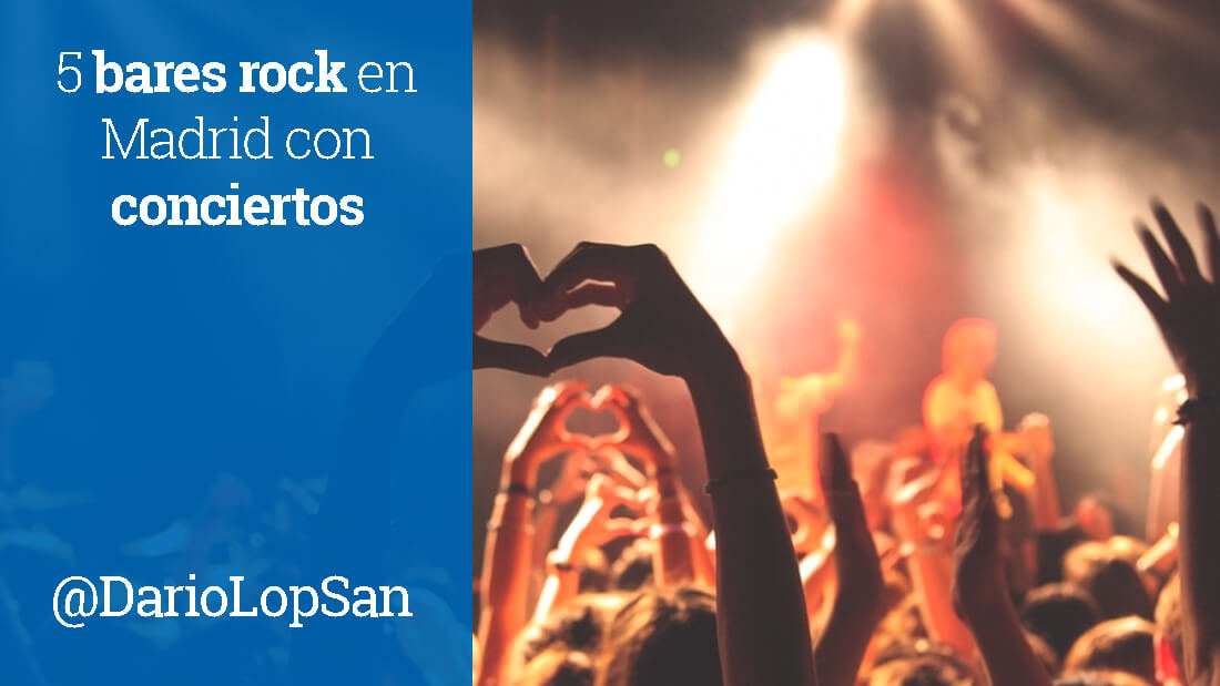 5 bares rock en Madrid con conciertos